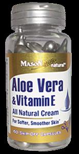 Aloe vera & vitamina E