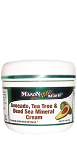 Avocado, tea tree & dead sea mineral