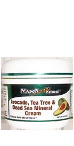 Avocado, tea tree & dead sea mineral