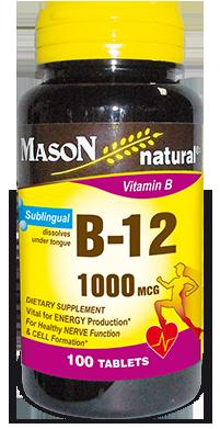Vitamin B – 12 1000 Sublingual