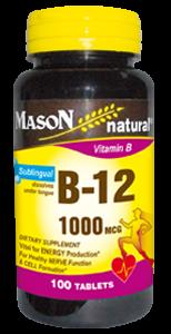 Vitamina B-12 1000 Sublingual MCG