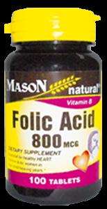 Folic Acid 800 mcg