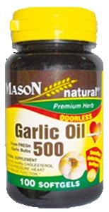 GARLIC OIL 500 (AJO EN ACEITE 500 mg)