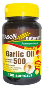 Garlic Oil 500 (Ajo en Aceite 500 mg)