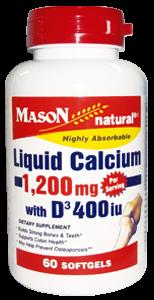 LIQUID CALCIUM 1200 W/D-3 400 IU