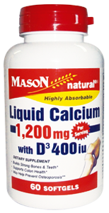 Liquid 1200 con Vitamina D-3 400 IU