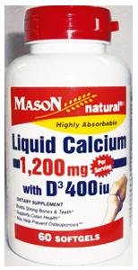 LIQUID CALCIUM 1200 WITH VITAMIN D3