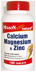 CALCIUM MAGNESIUM & ZINC