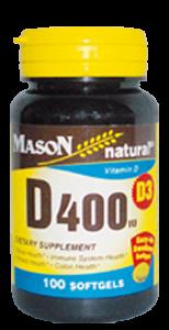 Vitamina D-400 UI