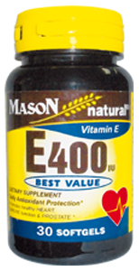 Vitamin E-400 UI (30 Softg)