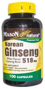 KOREAN GINSENG 518 MG