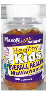 Healthy Kids Overall Health Multivitamin Gummies