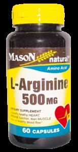 L – ARGININE 500 mg