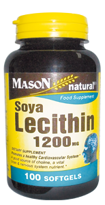 Lecitina de soya 1200 MG