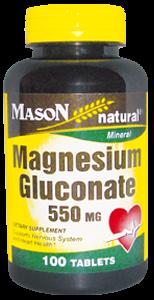 Magnesium Gluconate 550 mg