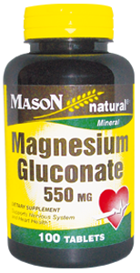 Magnesium Gluconate 550 mg