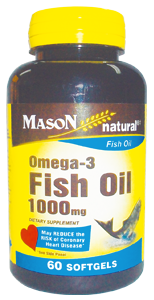 OMEGA 3 FISH OIL 1000 MG
