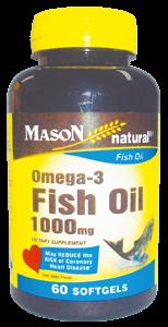 OMEGA 3 FISH OIL 1000 MG