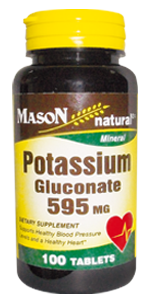 POTASSIUM GLUCONATE 595MG