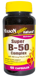 Super B 50 Complex with 400 mcg Folic Acid