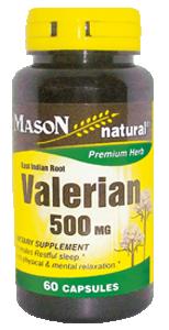 Valerian 500 mg