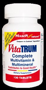 VITATRUM COMPLETE MULTIVITAMIN & MULTIMINERAL