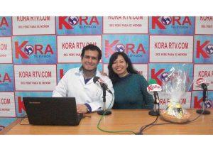 Vitaminas Mason en Kora Tv : Entrevista a nuestra nutricionista Imelda Romero