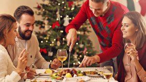 En navidad, Cuida tu corazón de la gran cena navideña