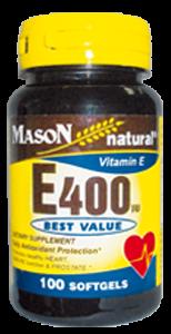 Vitamin E-400 UI (100 Softg)