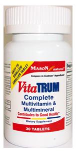 Vitratum multivitamínico y multimineral completo (30 Tab)