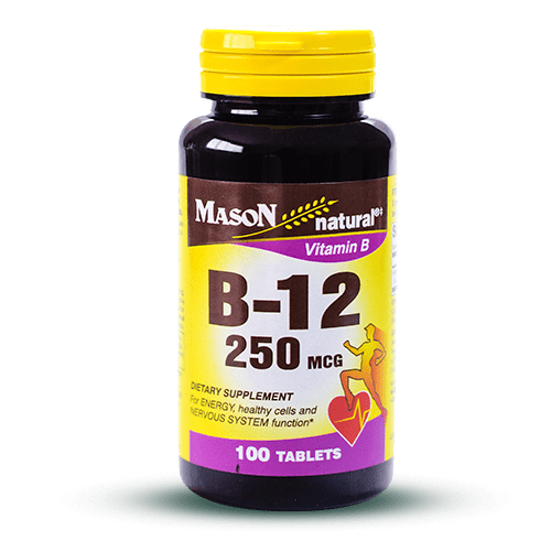 Vitamin B12 – 250 mcg