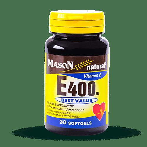 para que sirve la vitamina e 400 ui
