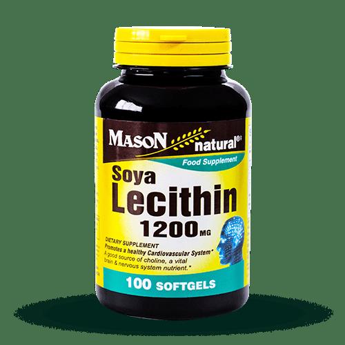 como se debe tomar la lecitina de soja 1200 mg