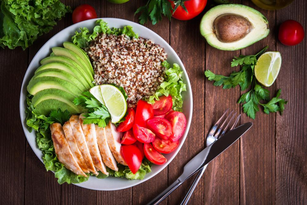 10 menús de comida bajas en calorías